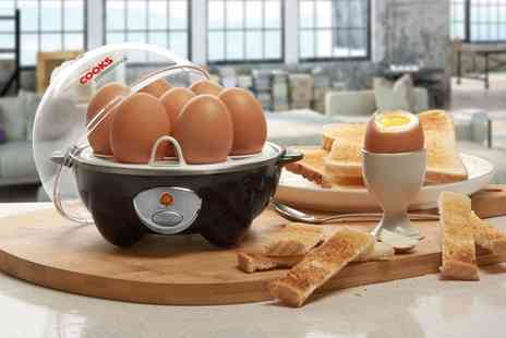 Groupon Goods Global GmbH - Cooks Professional Egg Boiler and Poacher in Choice of Colour - Save 67%