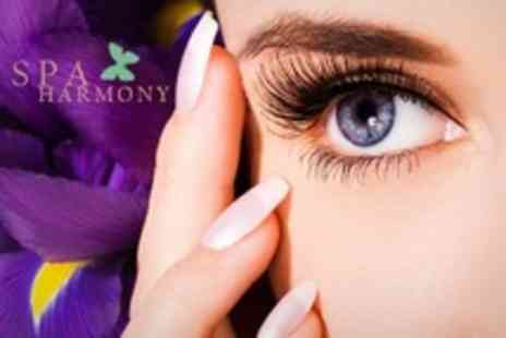 Spa Harmony - Definition Eyebrows shape and tint with an eyelash tint, plus a deluxe Jessica manicure or a Twinkle Toes pedicure - Save 68%