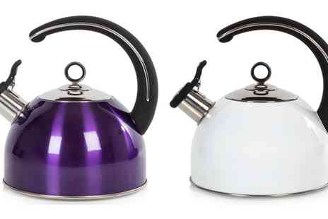 Groupon Goods Global GmbH - Morphy Richards Accents 2.5L Whistling Kettle - Save 85%