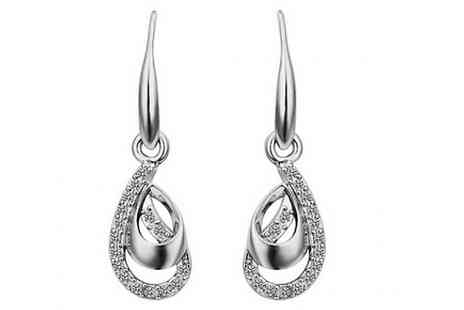 Romatco - Pella Earrings Made With Swarovski Elements - Save 84%