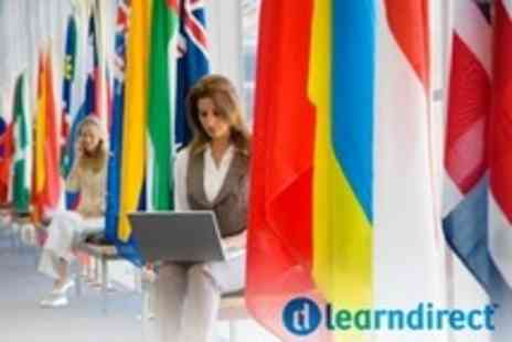Learndirect -  Four Level Online Language Bundle with a Choice of 10 Languages  - Save 80%