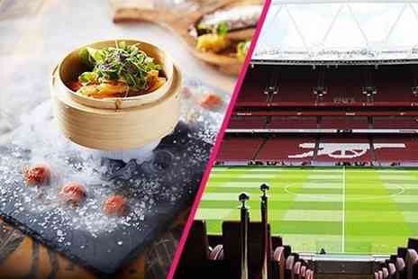 Buyagift - Tour of Emirates Stadium for two plus a three course meal and Champagne cocktail each - Save 0%