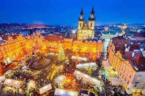 Bargain Late Holidays - Two or three night Prague break with flights and breakfast - Save 57%