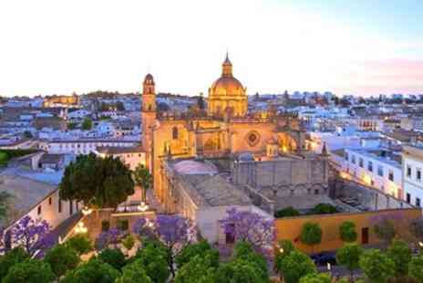 Hotel Los Jandalos Jerez - Cadiz wine region hotel stay with breakfast - Save 0%