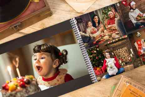 Huggler - A3 100 page personalised photobook - Save 65%