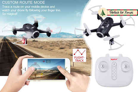 FDS Corporation - Remote control quadcopter drone choose black or white - Save 59%