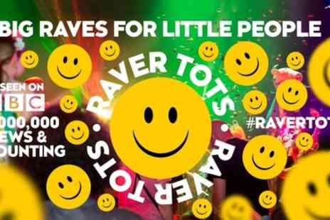 Raver Tots - Family Rave Entry on 10 December to 10 February - Save 28%