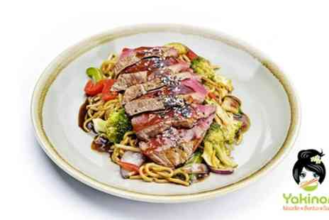 Yakinori - Japanese Meal for One, Two or Four - Save 43%