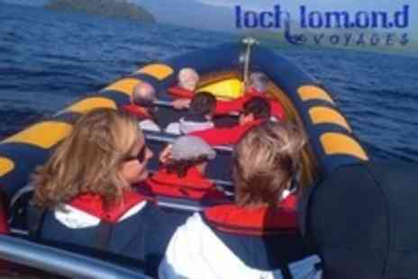 Loch Lomond Voyages - One Hour Loch Lomond Speed Boat Trip For Two - Save 57%