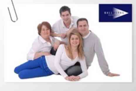 Wallworks Photography - Portrait or Family Photo Shoot With Framed Print - Save 85%