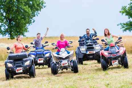 Wicked Adventures - One Hour Quad Bike Safari for Up to Four - Save 41%