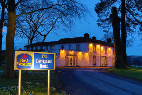 Best Western Dryfesdale House Hotel - Two night 4 Star stay for two people including breakfast and a two course dinner - Save 51%