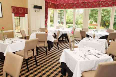 Riverhill Restaurant & Hotel - The Wirral 3 course dinner for 2 - Save 39%