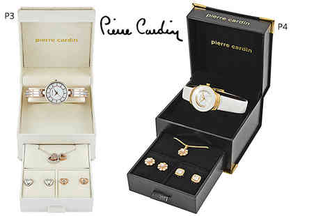 Brand Logic - Pierre Cardin watch and jewellery set - Save 66%