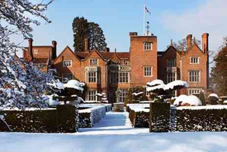 Great Fosters Hotel - Gourmet Surrey stay with dinner & champagne - Save 48%
