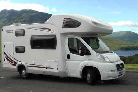 Spaceships Rentals - Two or six night Campervan hire for two or four - Save 36%