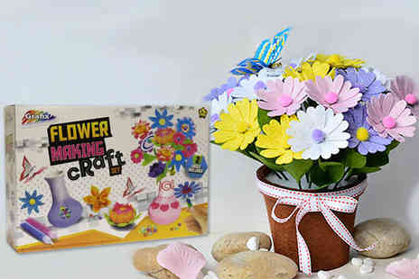 Spot Promotions - Flower making craft kit - Save 74%