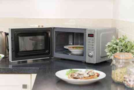 Groupon Goods Global GmbH - Russell Hobbs Digital Microwave With Free Delivery - Save 27%