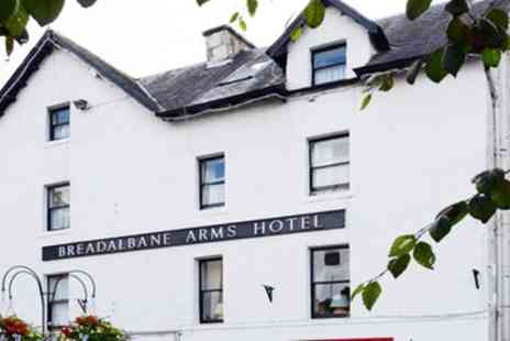 The Breadalbane Arms Hotel - Up to Three Nights Stay for Two with Breakfast, Tea, Cakes and Optional Dinner - Save 0%