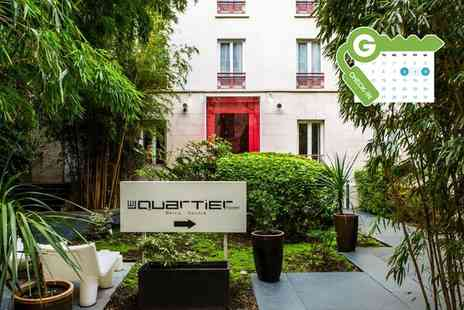 Le Quartier Bercy Square - Double Comfort Room for Two with Option for Breakfast - Save 0%