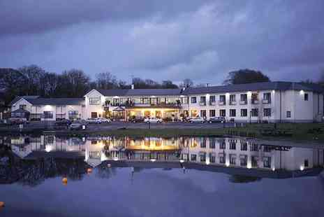 Lakeside Manor Hotel - One to Three Nights Stay for Two with Full Irish Breakfast - Save 47%