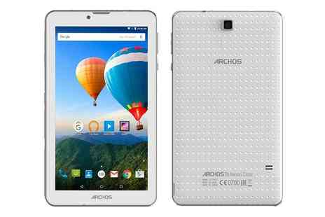 Groupon Goods Global GmbH - Archos 70C Xenon 7 Inch Android Tablet with Optional BullGuard Anti Virus With Free Delivery - Save 0%
