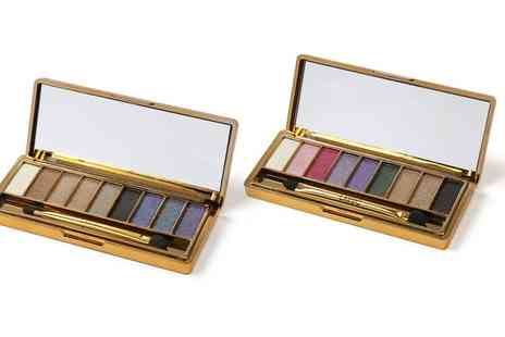 Groupon Goods Global GmbH - One or Two LaRoc Nine Colour Glitter Eyeshadow Palettes - Save 46%