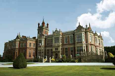 Crewe Hall - Afternoon Tea For Two with Optional Prosecco or Champagne - Save 27%