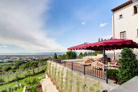 Villa Tolomei Resort & Spa - Five Star Tuscan Style 10min Outside Florence Stay For Two - Save 80%