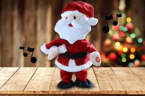 Craze UK - Christmas Singing Santa - Save 61%