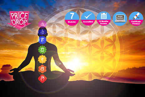 Kew Training Academy - Online chakras and your energy body course - Save 88%