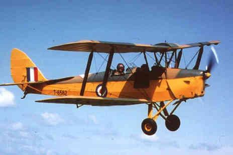Buyagift - De Havilland Tiger Moth flight at a choice of six locations - Save 0%