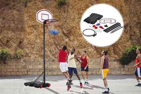 Who Needs Shops - Adjustable basketball hoop - Save 73%
