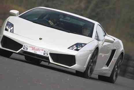 Driving Experiences 4 U - Three Laps in Up to Four Supercars and One Passenger Lap - Save 61%