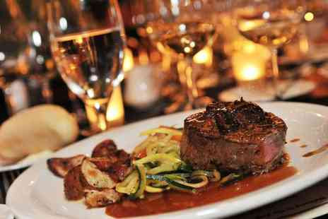 The Waggoners - Fillet Steak AA Rosette Meal for Two or Four with Wine or Prosecco - Save 59%