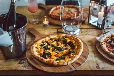 Craft & Dough - Pizza and a bottle of Prosecco for two - Save 58%