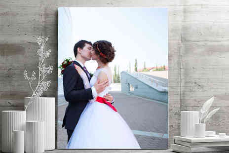 Your Perfect Canvas - Two personalised A2 canvases - Save 82%