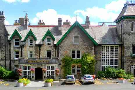 The Cumbria Grand Hotel - One or Two Nights Stay for Two with Breakfast, Dinner, Late Check Out and Glass of Fizz - Save 56%