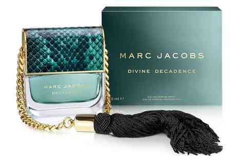 Groupon Goods Global GmbH - 50ml or 100ml of Marc Jacobs Divine Decadence Edp With Free Delivery - Save 30%