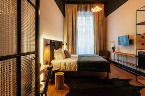 Hotel Rum Budapest - Three Star Stylish Design Hotel Stay For Two in Historic Building - Save 76%