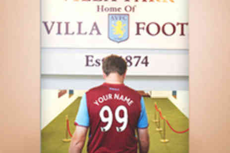Aston Villa Print Shop - Personalised A3 Aston Villa Poster with Delivery - Save 50%