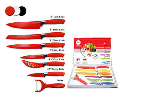 Direct 2 Publik - Seven piece culinary set choose from four colours - Save 89%