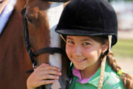 Grenoside Equestrian - Kids Pony Party Including Pony Ride - Save 55%