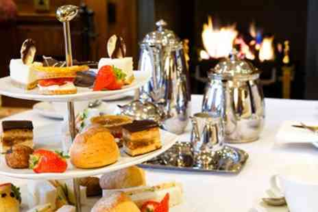 Langley Castle - Afternoon tea for Two - Save 44%