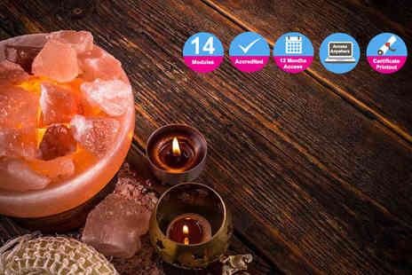 Kew Training Academy - Online diploma in crystal therapy course - Save 86%