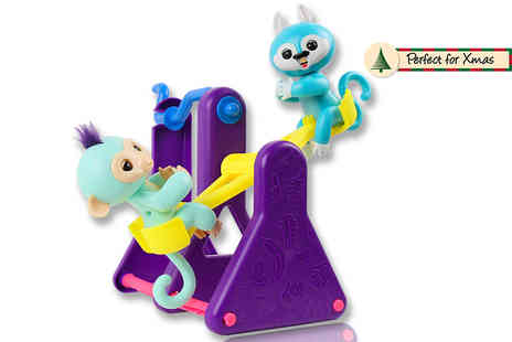 DM Logistic Solutions - Interactive Finger Monkey Play See Saw - Save 57%