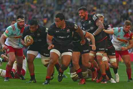 Saracens - Childs or adult ticket to see Saracens vs Harlequins rugby on 24th March 2018 - Save 29%
