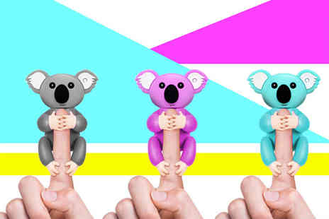 Charles Oscar - Interactive finger pet koala choose from three colours - Save 75%