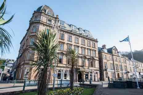 The Royal Hotel - One or Two Nights Stay for Two with Breakfast, Three-Course Dinner, Glass of Fizz, and Late Check Out - Save 53%