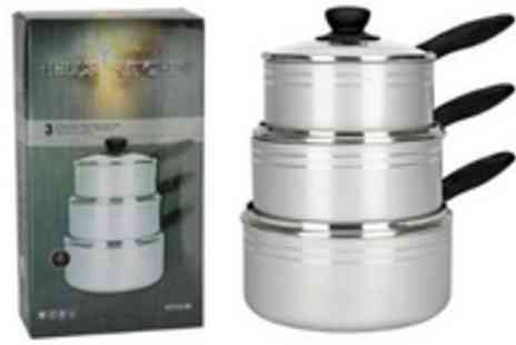 Gadgets and Products - Pan or Saucepan Set - Save 67%